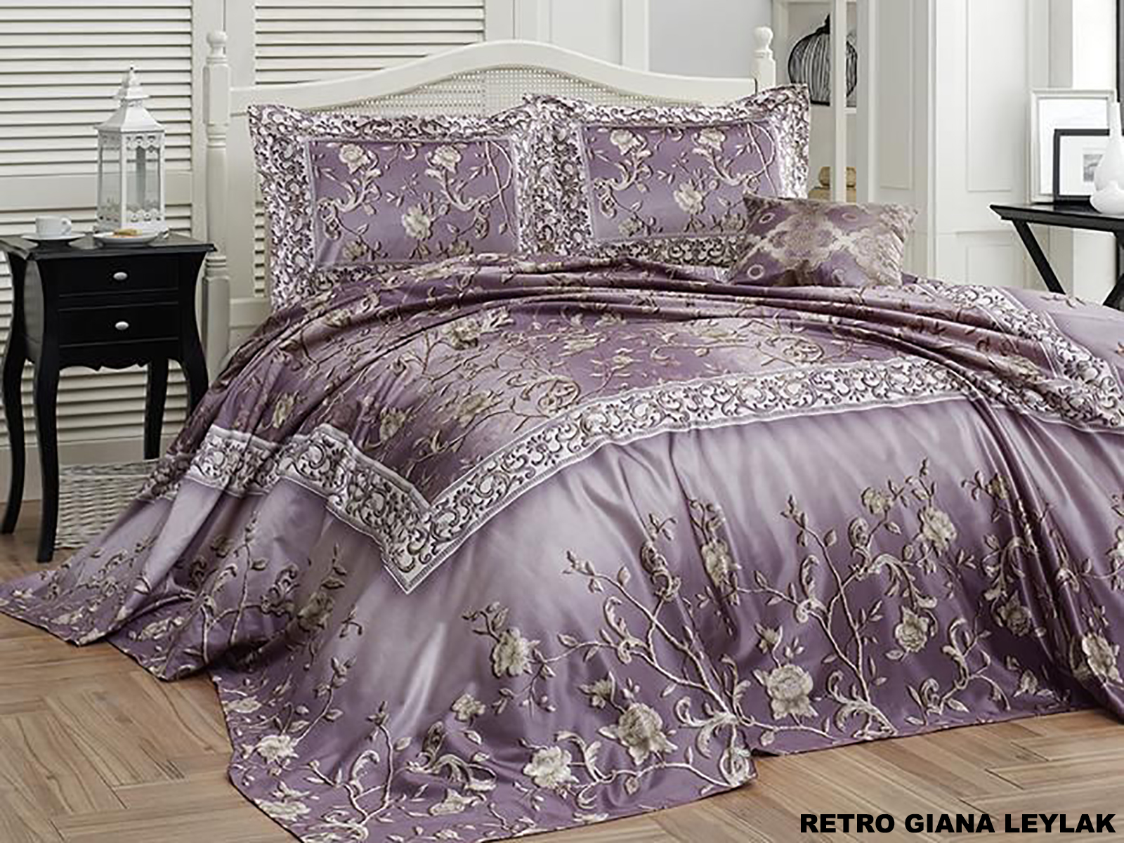 """Покрывала на кровать """"First Choice"""" Retro Giana Leylak"""