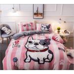 """Молодежное постельное белье """"HomyTex"""" фланель Bulldog"""