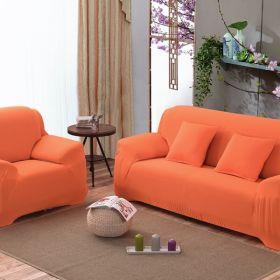 """Чехол на трехместный диван """"HomyTex"""" (образец ткани бежевый)"""