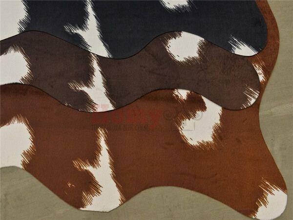 "Шкура коровы ""HomyTex"" Корова Темно-коричневая"