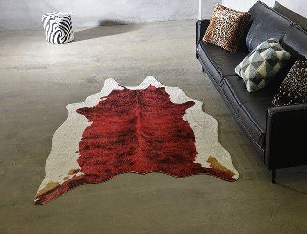 Шкура коровы Homytex Красная